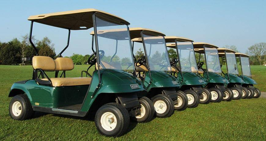 How much does it cost to hire a golf buggy in Belek, Turkey?