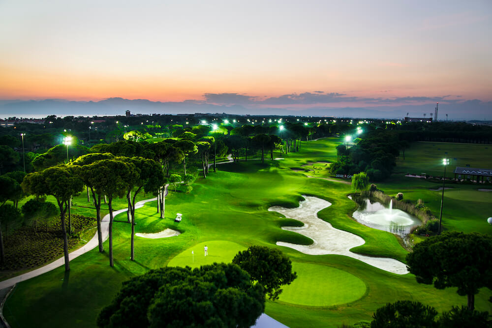 Night Golf in Turkey, Belek