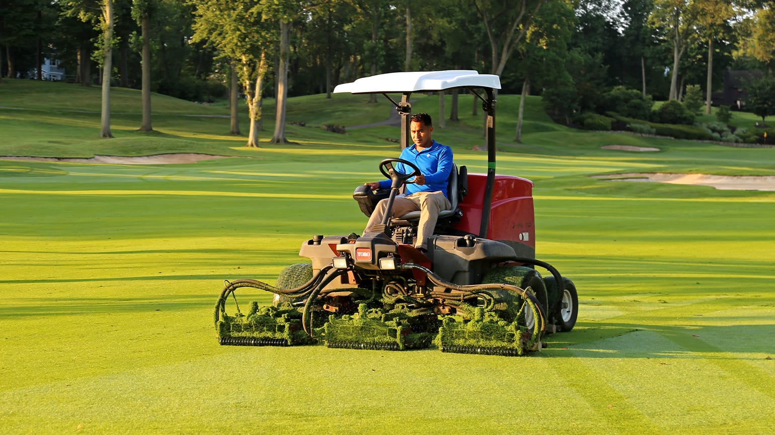 Course Maintenance and Overseeding in Belek 2021